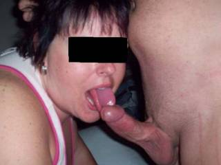 Luv to have her sweet lips wrapped around my stiff dick