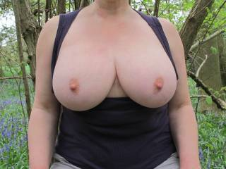 You definitely have the STIFF part right! Absolutely incredible tits! Ohhhhh the fun we could have with those!
