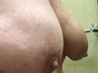 I'd love to. Would you mind if I sucked and nibbled on those fantastic nipples of yours?