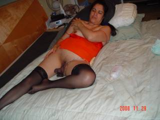 does my dildo in my pussy make you hot and horny