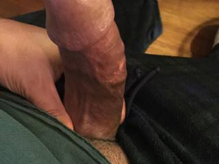 I just want to slide my wet pussy right on it