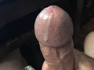 Pre cum dripping from my swollen cock head while looking at pics from a sexy cum dump , cock slut f4u69.......thanks you sexy fuck toy !