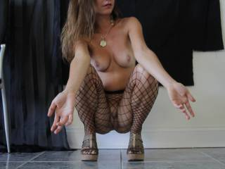 my gorgeous friend in fishnets....probably more to come