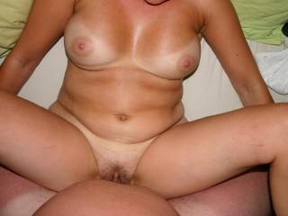nice view of my lovely wife.what do you think???