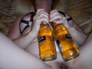 couple of cold beers some dirty talk and bam hard nipples time to warm them up