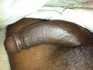 Just another morning hard on