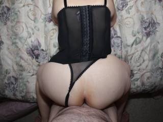 Bend over and pull those panties aside
