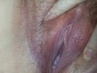 my hubby loves licking my clit till I cum, he says my pussy tastes sweet, I like to fill his mouth with my juices