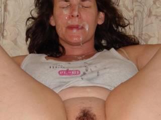 My Norwegian Girlfriend enjoying some spunk