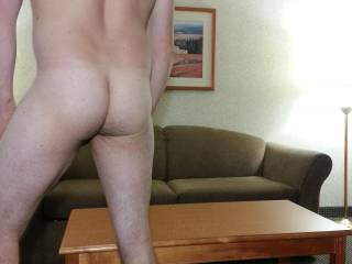 In hotel... Wanted to show off rear view.