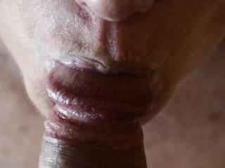 Sucking some dick…..