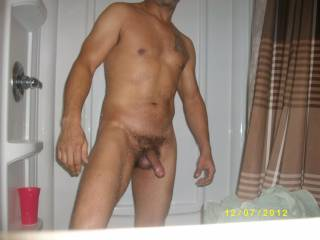Very nice cock I'd love to watch it slide inside my wife after I suck it hard. Lie to watch you empty your balls in one of us. You pick where.