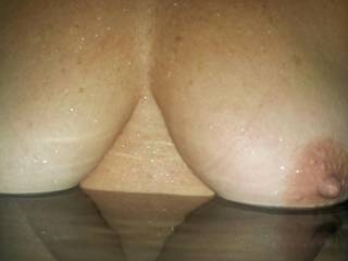 Mmmm! A night time skinny dip with you would be So sexy! Love to suck on your hard nipples and play with your tits and pussy as we float around in the moonlight!