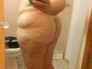 Well you're in luck baby I love really big girls and you are one of them,love that beautiful ass and body and I want it!!