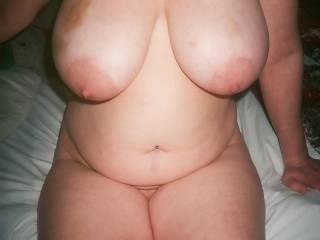 a pic of my wife after a hard session