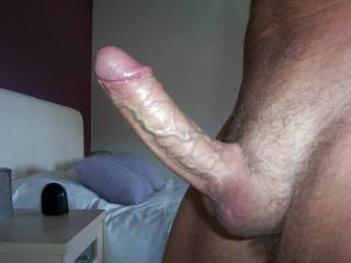 Duke is ready for some action.  Who thinks they are ready to deep throat my cock and take a load deep down your throat?