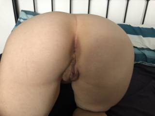 My ass on display and my asshole ready
