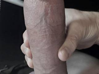 Walking my dog at a park I met one very sexy, petite young Latina with a sunbeam smile and cheery disposition. I misinterpreted her cues, thinking she was with the guy who was nearby. Dammit! Back at home, my erection raged for her as you see here.