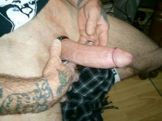 wanna help me suck his big cock???