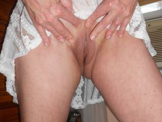 ust looking at your pics has my cock aching to fill your juicy hot tight pink wet pussy and my mouth is watering to taste your sweet hot juices and suck on your gorgeous breasts!! Wish I was between your sexy hot legs right now. I want to taste your horny hot sweet pussy
