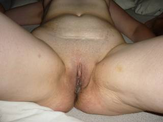 Me too...my cock is throbbing at the thought of sliding into your juicy pussy.