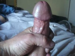Horny playing with my cock
