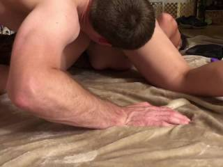 I love when he licks my pussy