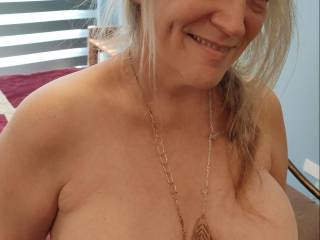 Wanna make my married tits shine? You have to suck and fuck them first.