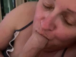 My wife loves sucking big cock