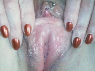 fantastic pic,what a sweet looking pussy,let me worship you til you squirt in my mouth then do with me what you will,heaven.