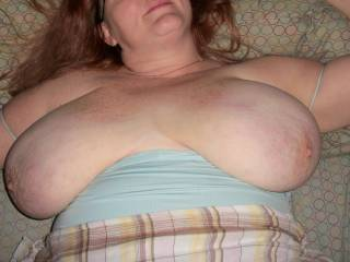 I want to get my face between your incredible tits...