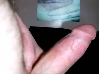 Fat cock for cumlover31...hope you can see how soaking she gets