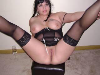 God Damn She is SOOOOOOOOOO HOT!  Absolutely Beautiful!   You can see in her Face She's Ready and Waiting for a Good Fucking!   Mmmmmmmmmmm, Great Bod and Curves!   :)