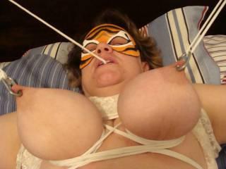 tits tied nipples tortured