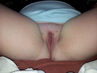 A freshly shaved pussy. Can i lick you? And when its wet enough fuck you and shoot my cum inside?