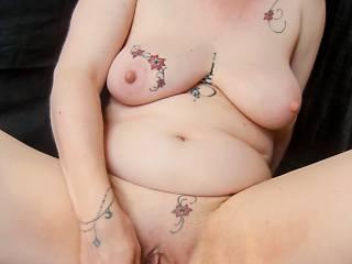 Masturbation and pussy play...Moist fingers...wanna suck them?