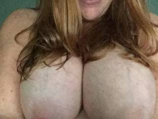 Just my breasts...