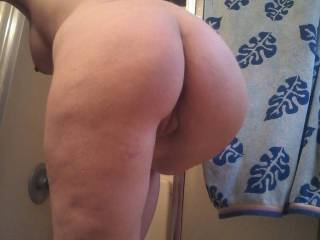She loves being fucked hard from behind