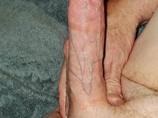 My large thick beautiful white dick cock