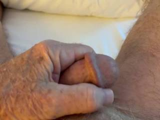 Mr. F showing off my favorite feature of his cock—his big, thick corona.  From Mrs. Floridaman