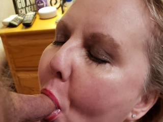 This married Cockwhore has been begging me to come over and fuck her while her husband is at his essential job. I saved up a load and dumped it straight onto her face for the cameras.