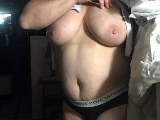 horny wife loves local's seeing her tits...anything you might wanna do with them
