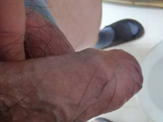 My small and short dick.
