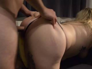 Charlotte taking a pounding from me and taking my cum deep inside her. She loves to be treated like a slut and feel used. I bet she cannot wait until she finds a fuck buddy to play with when I\'m away!