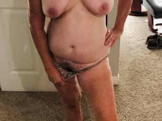 She's feeling so sexy.
