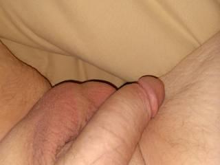 My 3 am hard cock