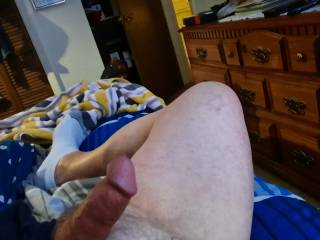 Freshly edged and wishing for a hot lady to beg me to allow her to finish me off