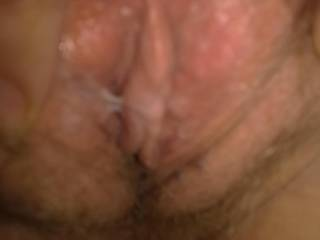 taken just after sex