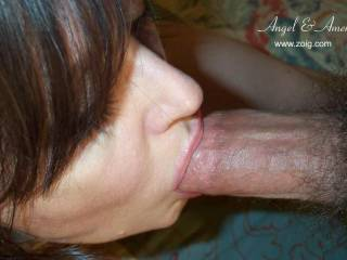 Lovely..just lovely...your mouth looks like it was made for cock sucking and face fucking. I'd love to have myself all the way inside your mouth and shoot a load down your throat