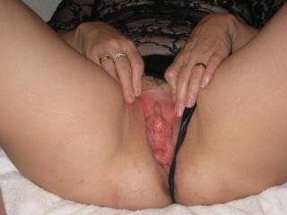 I too love to tongue fuck her pussy till she orgasums in my mouth shove my hard cock deep in her up to my balls and fuck that juicy crack...then spunk her hot tits and belly